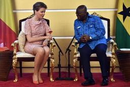 La Reine et le président ghanéen échangent en matière de coopération au développement