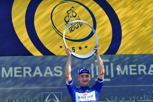 Cyclisme: l'Italien Elia Viviani remporte le Tour de Dubaï