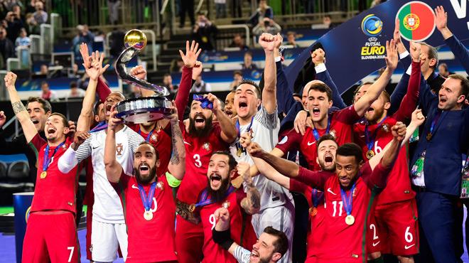 Slikovni rezultat za portugal futsal champion
