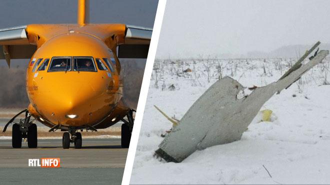 Un avion de ligne russe s'écrase près de Moscou: 71 personnes se trouvaient à bord