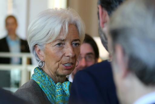 Pour Lagarde (FMI), les récents reculs boursiers sont des