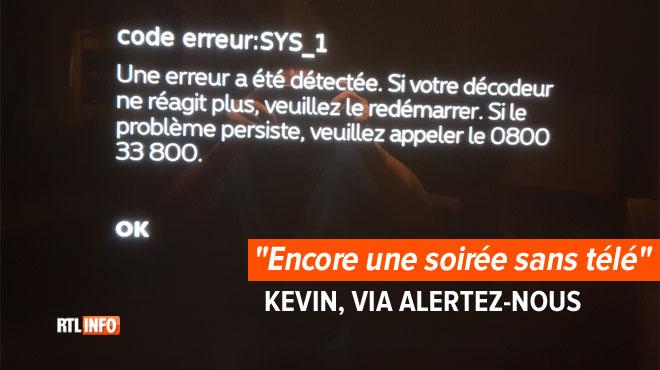 Des habitants touchés par une panne sur le réseau télé de Proximus dans le Hainaut: le problème devrait être résolu selon l'opérateur