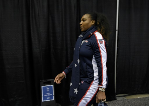 Fed Cup: Serena Williams s'incline en double pour son retour à la compétition
