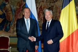Didier Reynders en visite à Moscou, nouvelle étape de la relance d'un dialogue