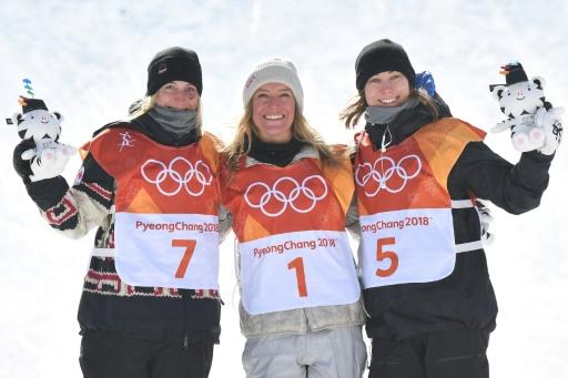 JO-2018: l'Américaine Jamie Anderson sacrée dans le vent en slopestyle