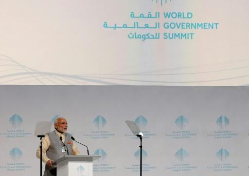 Aux Emirats, le Premier ministre indien oeuvre au rapprochement entre les deux pays