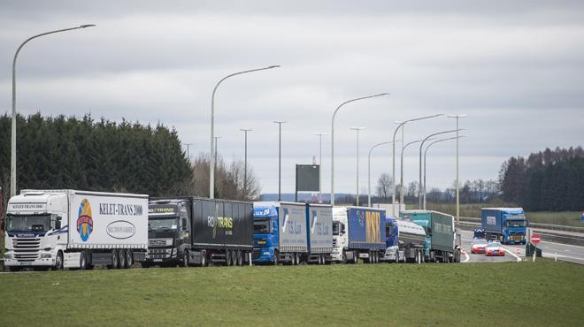 Combien a rapporté la taxe kilométrique en Belgique?