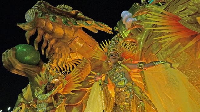 Le carnaval de Rio bat son plein: voici les plus belles images du