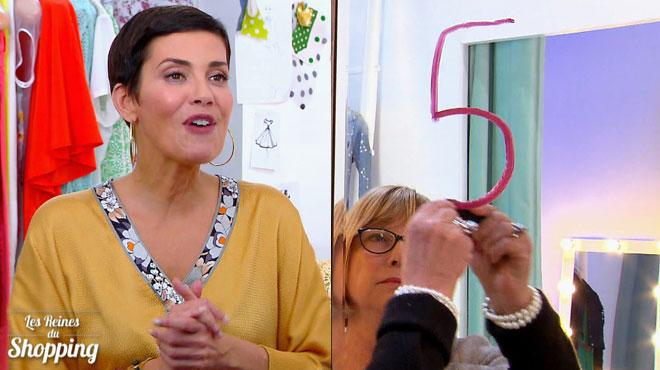 Cristina Cordula et les concurrentes de Marjorie pas du tout d'accord sur son shopping :