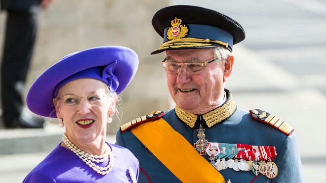 La reine du Danemark annule un engagement à cause l'état de santé de son mari qui ne cesse de se détériorer