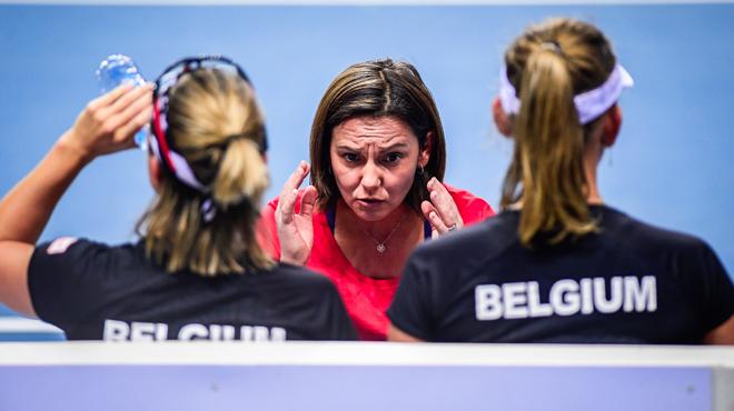 La Belgique tête de série avant le tirage des barrages de la Fed Cup
