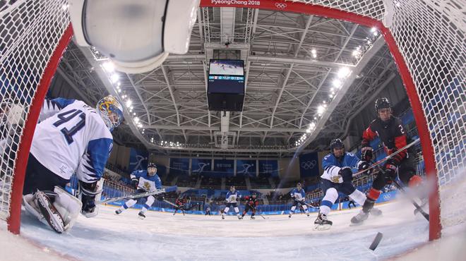 Le CIO ne pense pas au Prix Nobel de la Paix pour l'équipe coréenne unifiée de hockey