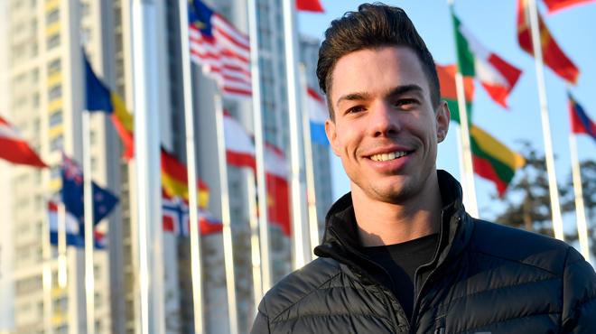 JO-2018: Jorik Hendrickx, un patineur belge, fait son coming-out à Pyeongchang