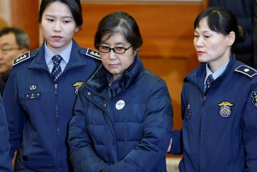 La confidente de l'ex-présidente sud-coréenne condamnée à 20 ans de prison