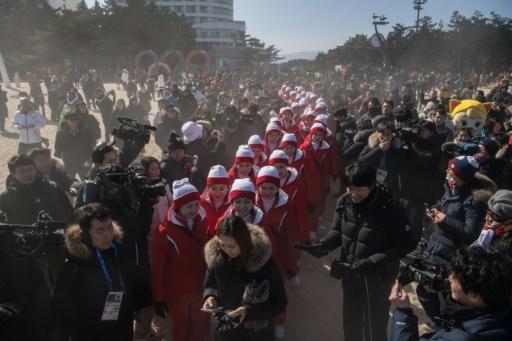 JO-2018: la sortie à la plage des pom-pom girls nord-coréennes gâchée par les médias