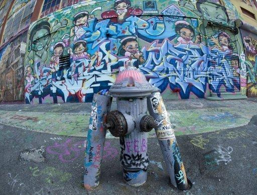 Une destruction de graffitis à New York indemnisée 6,7 millions de dollars