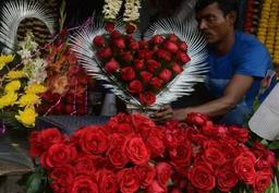 Les fleurs pour la Saint-Valentin d'une incroyable qualité, selon les fleuristes belges
