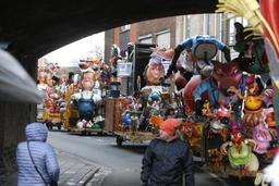 La clôture du carnaval d'Alost attire quelque 20.000 personnes
