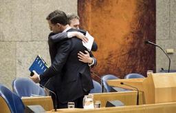 Une partie de l'opposition néerlandaise soutient la motion de défiance contre Rutte
