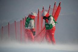 JO 2018 - Le slalom féminin de ski alpin reporté au vendredi 16 février en raison du vent violent