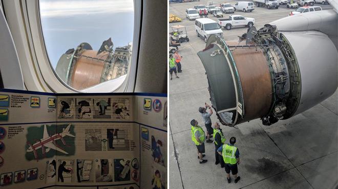Un Boeing reliant San Francisco à Hawaï perd une partie de son réacteur en plein vol: