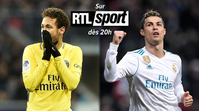 CHOC Real Madrid-PSG ce mercredi soir sur RTL Sport: un BLOCKBUSTER, catégorie thriller