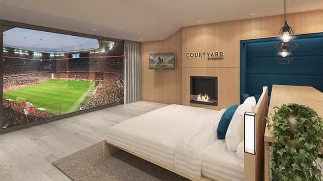 Une chambre de folie à l'Allianz Arena — Bayern Munich