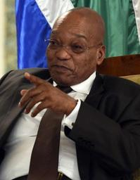 Motion de défiance contre le président Zuma jeudi s'il n'est parti avant