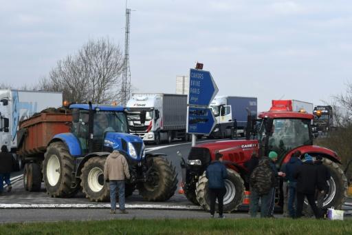 Zones défavorisées: manifestations d'agriculteurs dans le grand sud-ouest