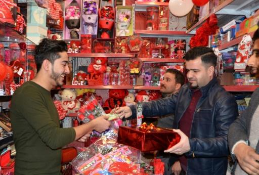 Irak: L'EI chassé, la Saint-Valentin de retour à Mossoul