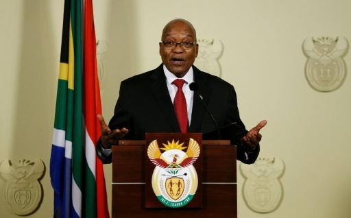Afrique du Sud: le président Jacob Zuma a annoncé sa démission