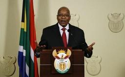 Afrique du Sud: le président Jacob Zuma annonce sa démission