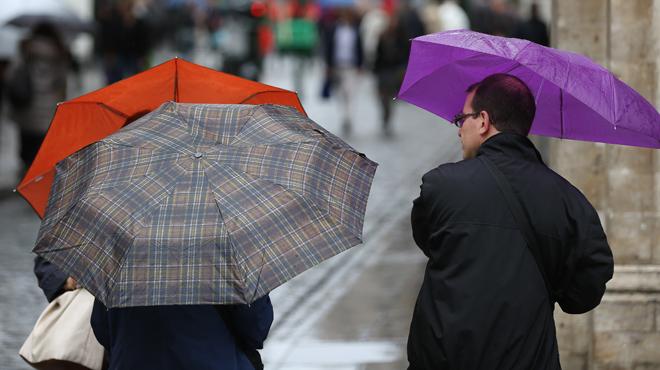Prévisions météo: de la pluie mais plus pour longtemps