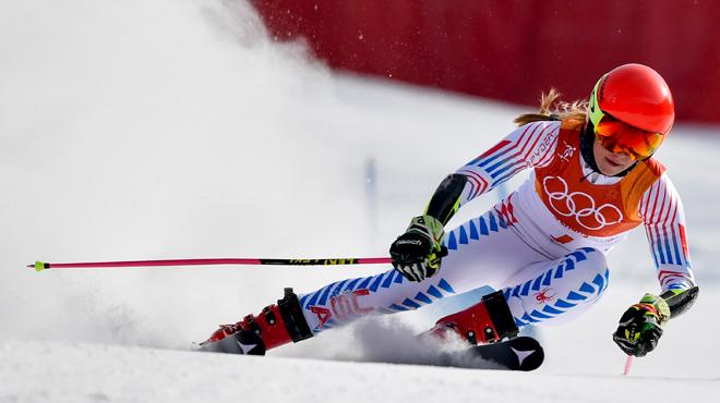 JO 2018 - Ski alpin (F) : Les géantistes ont pu rester au chaud