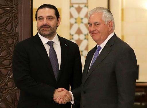 Tillerson dénonce à Beyrouth les actions