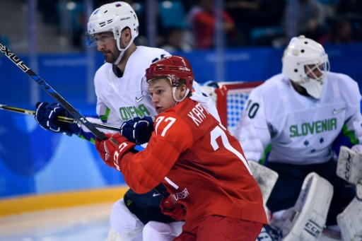 JO-2018: les hockeyeurs russes se reprennent