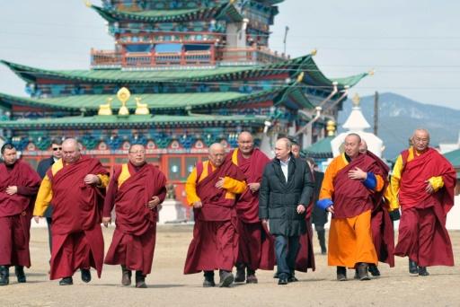 En Russie, les Bouddhistes de Sibérie fêtent le Nouvel an lunaire