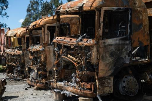 Chili: 26 camions brûlés dans des zones réclamées par les Mapuche