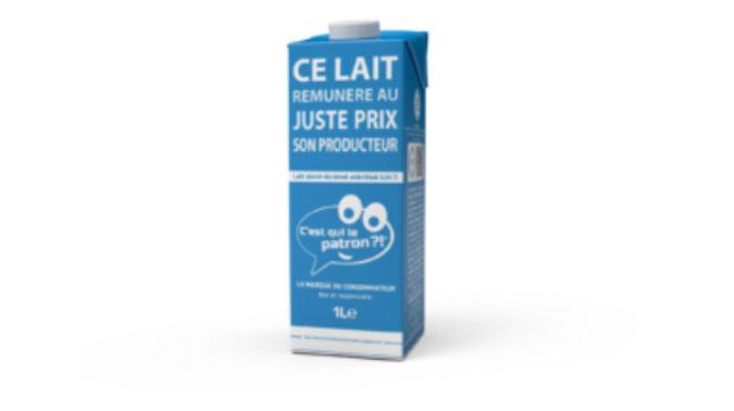 Un nouveau lait apparaît ce samedi dans les rayons de supermarchés et c'est vous qui en avez fixé le prix