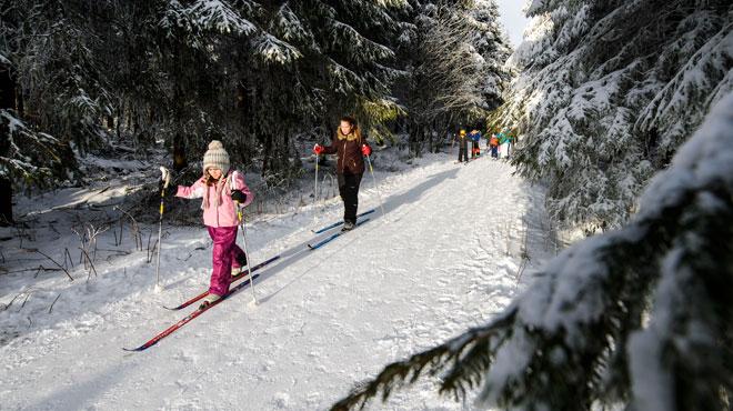 Voici où vous pouvez skier en Belgique ce week-end
