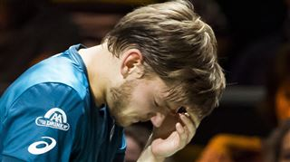 David Goffin reçoit une balle dans l'œil et abandonne en demi-finale à Rotterdam (vidéo) 3