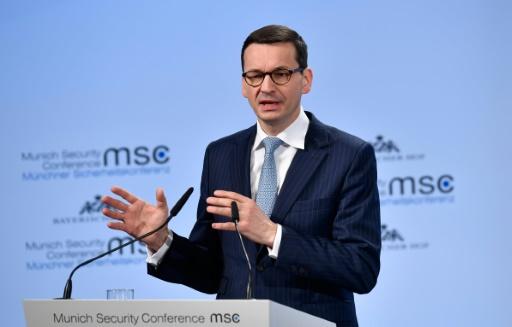 Malaise quand le Premier ministre polonais parle