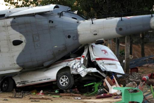 Un hélicoptère militaire s'écrase, deux morts — Mexique