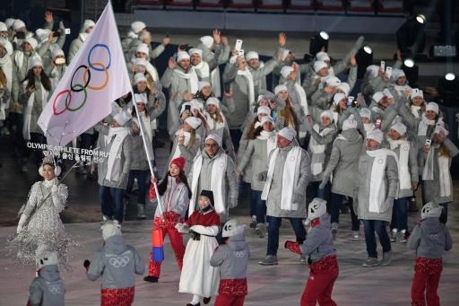 JO-2018: un Russe sous drapeau olympique positif au meldonium