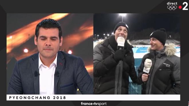 Un journaliste craque complètement en direct aux JO (vidéo)