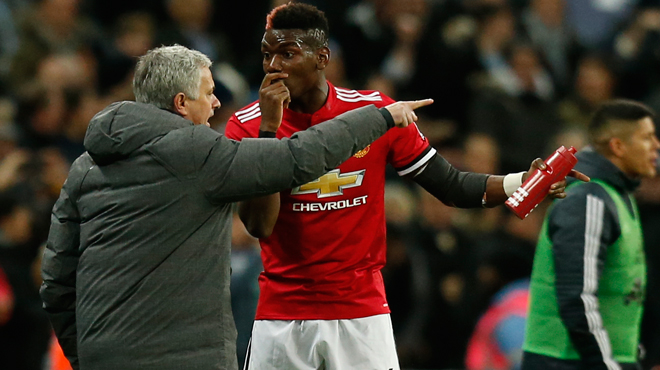 Situation tendue entre Paul Pogba et José Mourinho: