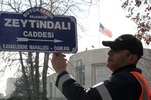 Opération militaire en Syrie: Ankara renomme une avenue près de l'ambassade américaine