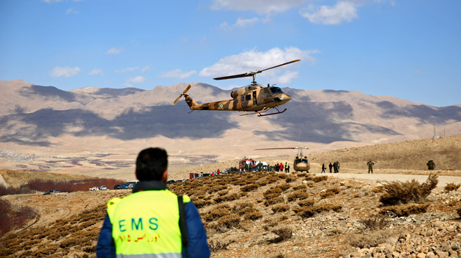 Iran: l'épave d'un avion de ligne disparu localisée