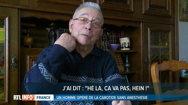 Opéré de la carotide sans anesthésie, André, 94 ans, raconte son CALVAIRE: