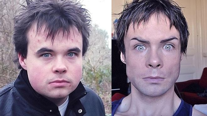 L'incroyable transformation de Damien, un habitant de Liège ex-obèse devenu modèle et acteur aux airs de Ian Somerhalder de Vampire Diaries